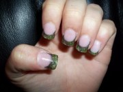 mossy oak camo nails prom 2012