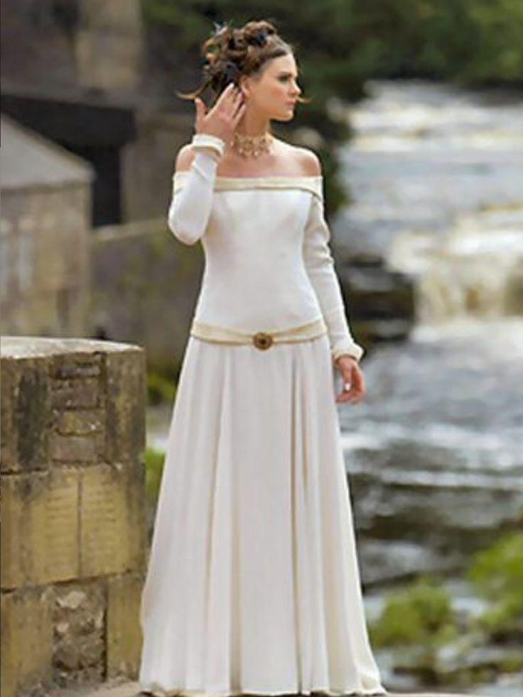 Irish Medieval style wedding dress  Ireland  Pinterest  Wedding Irish and Style