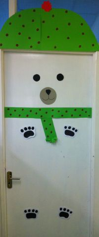 My polar bear classroom door | Displays | Pinterest ...
