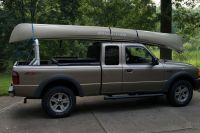 PVC Pick Up Truck Rack for canoe or kayak. such a good