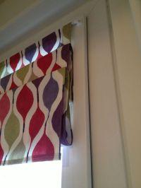 Magnetic window blind / window shade - folded   Crafts ...
