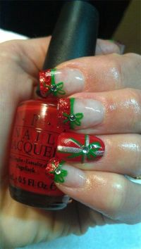 17 Best images about Christmas Present Nail Art on ...