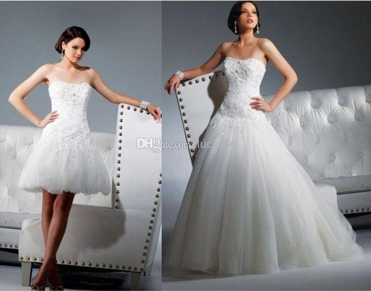 Die 25 Besten Ideen Zu 2 In 1 Hochzeitskleid Auf Pinterest