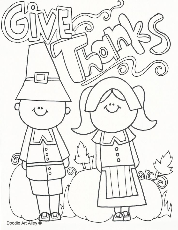 Free Thanksgiving Coloring Pages and printable activity