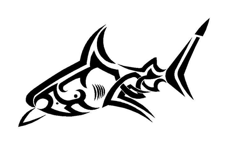 1000+ ideas about Tribal Shark Tattoos on Pinterest