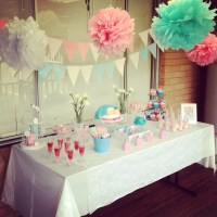 Mesas, Baby showers and The grey on Pinterest