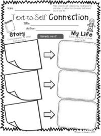 17 Best ideas about Making Connections Activities on ...