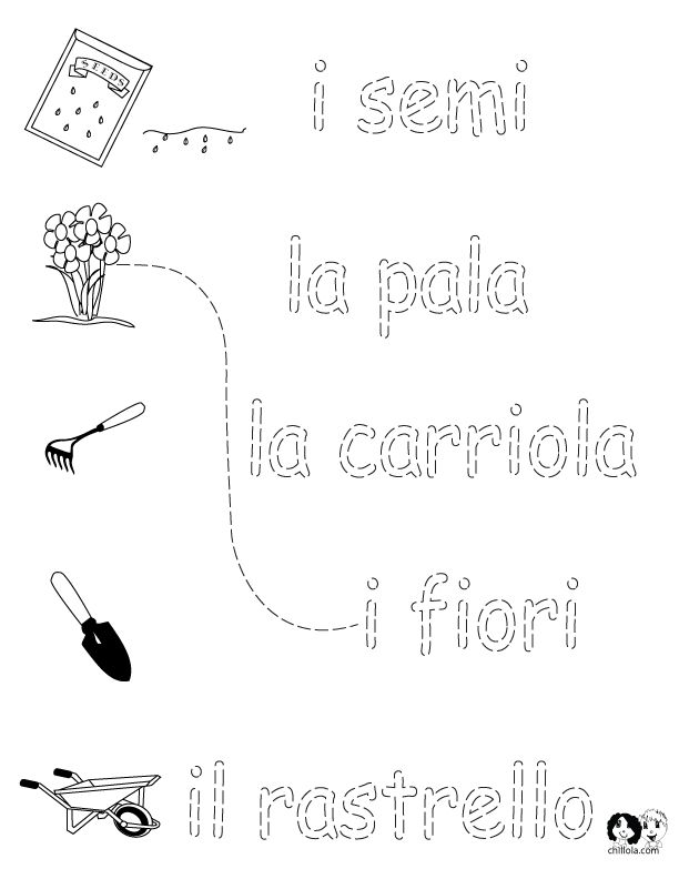 17 Best images about Italian Worksheets for Children