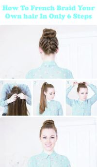 25+ best ideas about Easy french braid on Pinterest ...