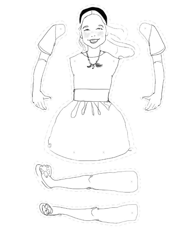 17 Best images about Boneca de papel / paper dolls para