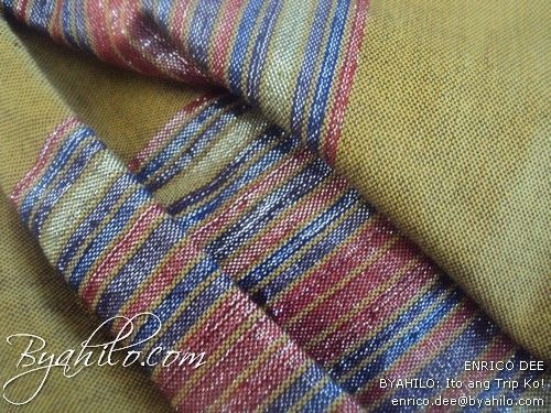 Hablon from Iloilo  textile made from cotton abaca or