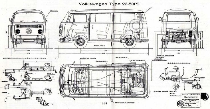 Schaltplan Vw T2b