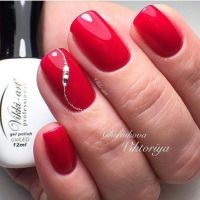 25+ Best Ideas about Red Nails on Pinterest | Red nail art ...