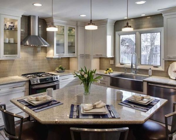 l shaped kitchen island with cabinets and design small l shaped kitchens with islands - Google Search