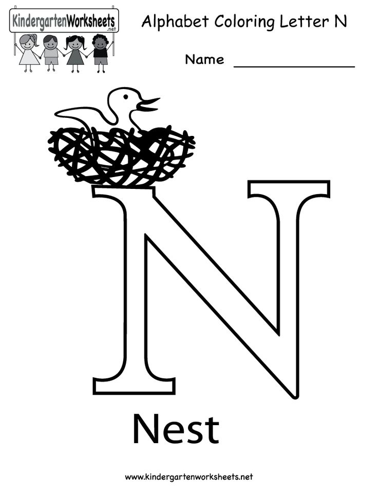 1000+ images about Letter of the Week: N on Pinterest