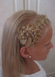 little girl french braid hairstyles
