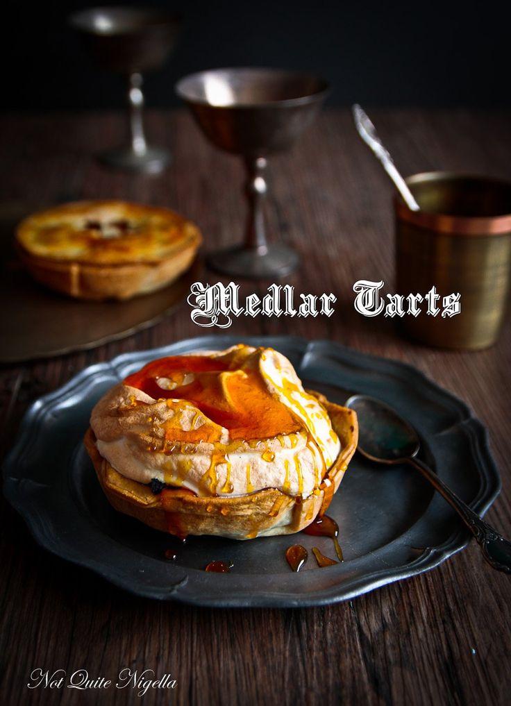 Medlar Tarts  The Mysterious Medieval Fruit  Recipe