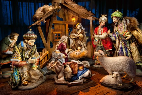 Nativity Set Nativity Scenes Pinterest Christmas