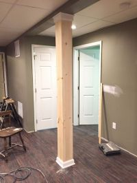 25+ best ideas about Basement Pole Covers on Pinterest