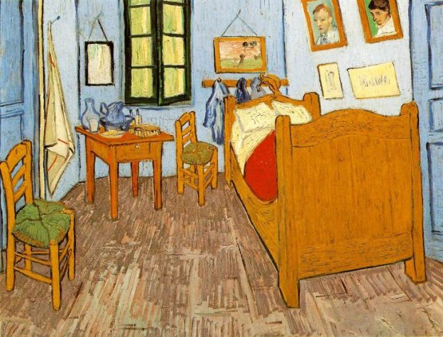 Van Gogh, The Bedroom: