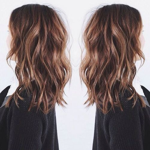 25 Best Ideas About Medium Hairstyles On Pinterest Shoulder