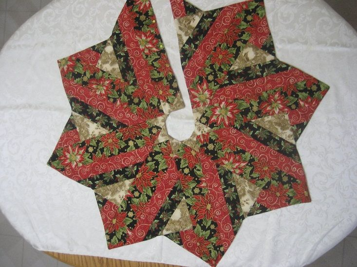 10 Degree Wedge Ruler Tree Skirt Pattern