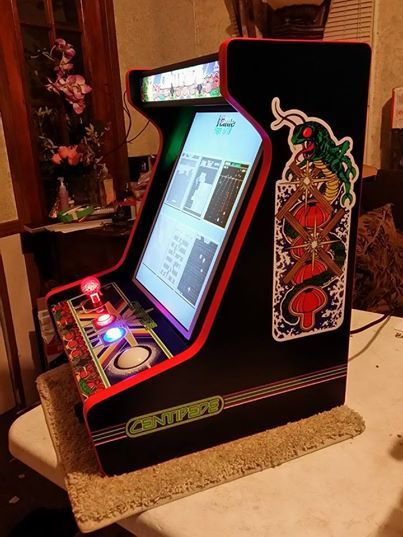 Finished Centipede Bartop Arcade With All The Bells Amp Whistles MAME Pinterest The Ojays