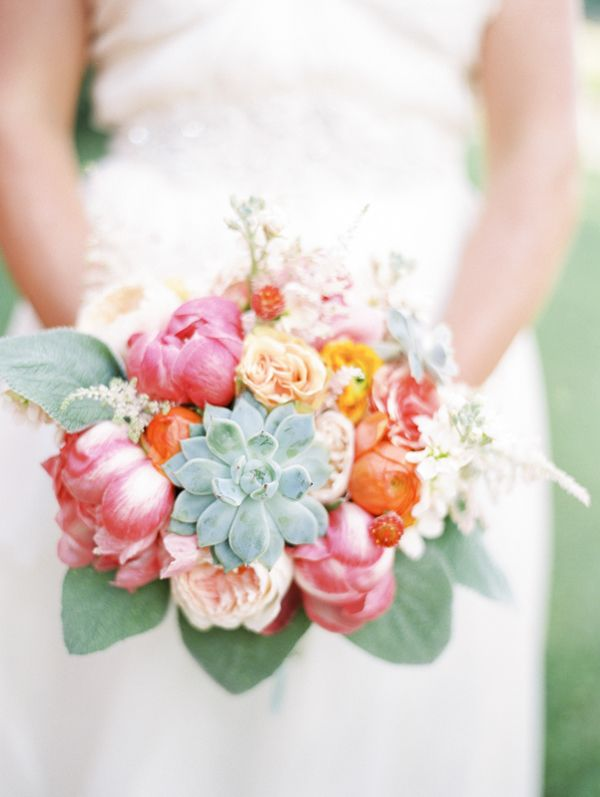 424 best images about Coral Wedding Bouquets on Pinterest