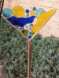 389 best images about Stained Glass for the Garden on ...