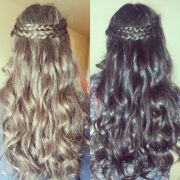 hairstyles quinceaneras damas