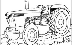 Best 25+ Tractor coloring pages ideas on Pinterest