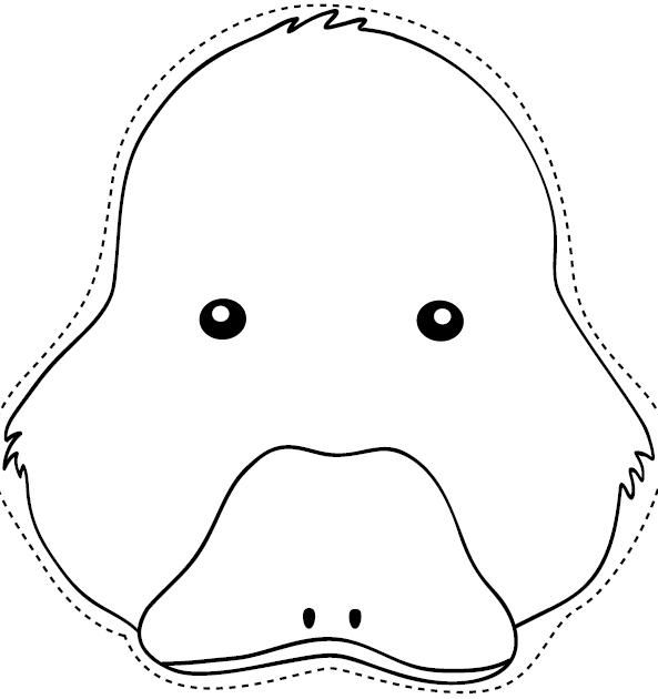 816 best images about Coloring Printable Masks on