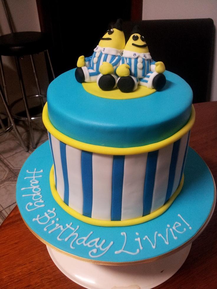 Banana Cake Birthday Cake
