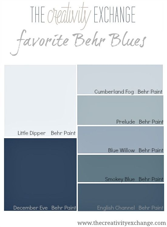 Behr Makes Some Of The Best Blue Paint Colors Out There See These In