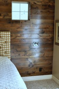 DIY wood plank wall,, a can do for sure! | DIY Home ...