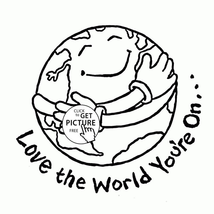 1000+ ideas about Earth Day Coloring Pages on Pinterest