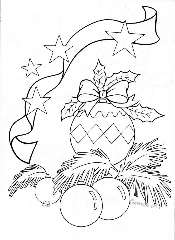17 Best images about Celebrate Christmas!- coloring on