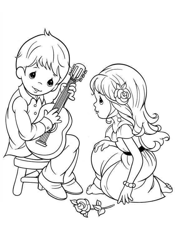 Coloring Pages Of Precious Moments Book Alphabet Free