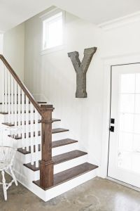 Best 25+ Farmhouse stairs ideas on Pinterest | Wallpaper ...