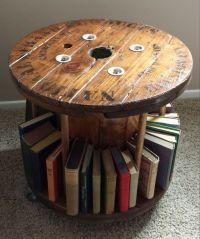 Re-purposed Spool Bookmobile by Rustoregon A gorgeous ...