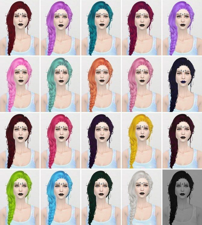 Sims 4 Updates Hairstyles NEWSEA'S ERENA 2t4 By