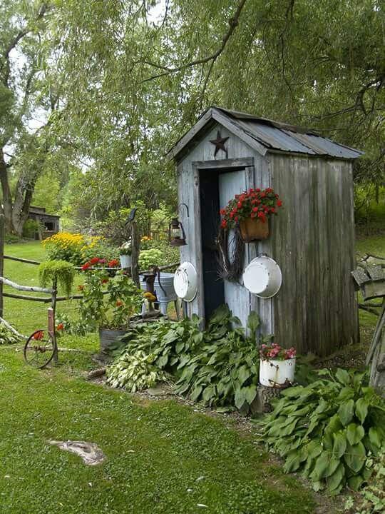 25 Best Ideas About Primitive Garden Decor On Pinterest Country