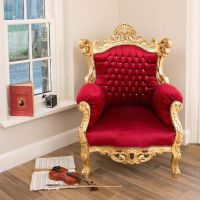 1000+ ideas about Throne Chair on Pinterest | King chair ...
