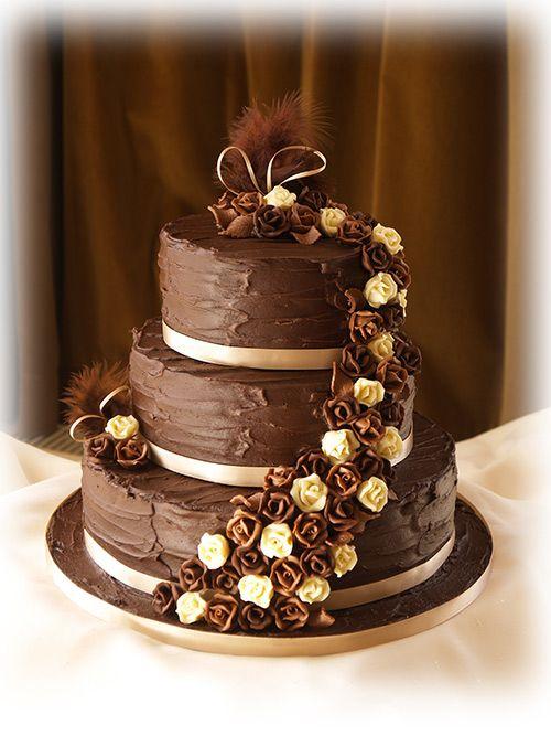 Chocolate Cheesecake Wedding Cake  The day we say I Do