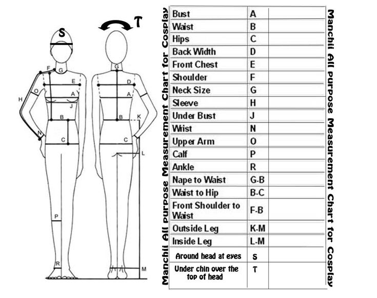 17 Best images about Sewing: Measure and Croquis on