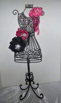 Bachelorette Party dress form centerpiece for sweet 16 ...