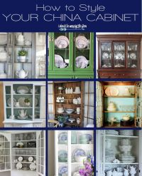 Best 25+ China cabinet display ideas on Pinterest | How to ...