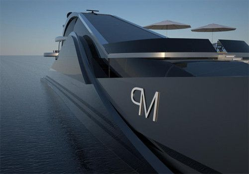 Onde 300 futuristic yacht Federico Pacini yacht