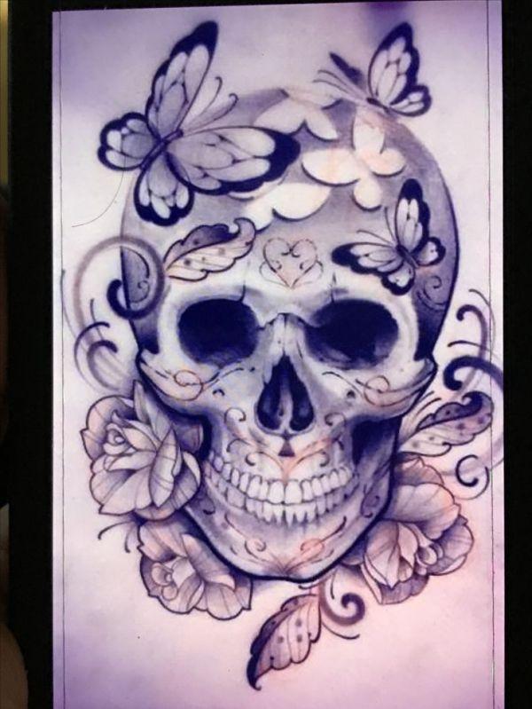 1000 ideas feminine skull