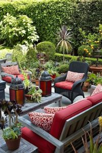 Moroccan themed patio and garden | Yard and Gardening ...
